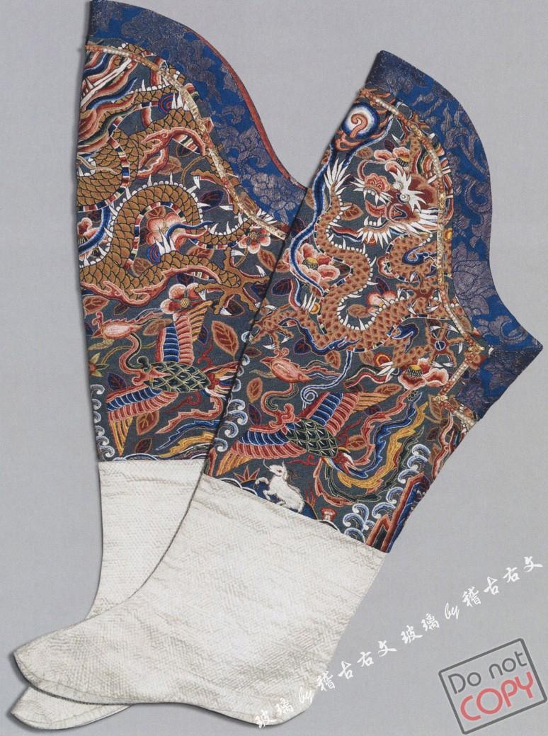 清朝流行的服饰花卉图案大全