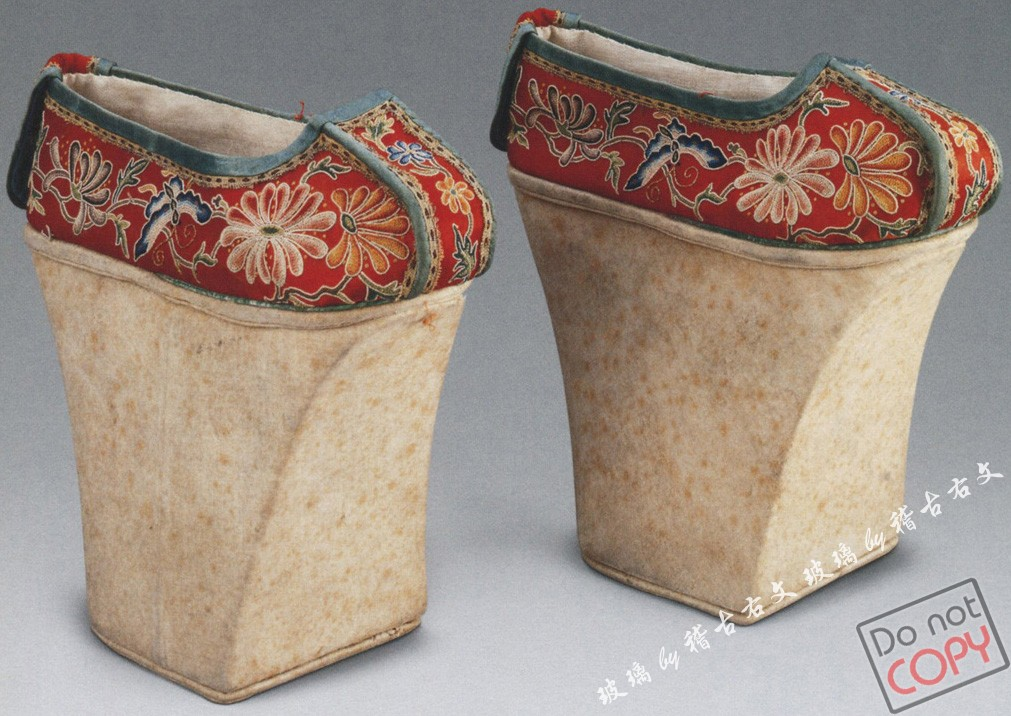 清代宫廷鞋子图片下载