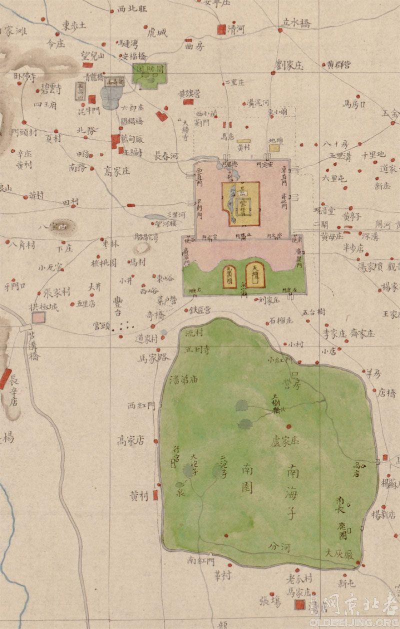 [清代其他]清代北京地图